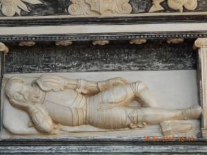 Надгробок Ванька Лагодовського, фундатор Унівської лаври
