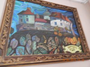 Олеський замок на картині