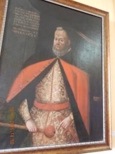 Гетьман Ян Ходкевич, картина в Олеському замку