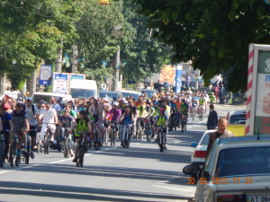 Велодень 2015 - велоколона
