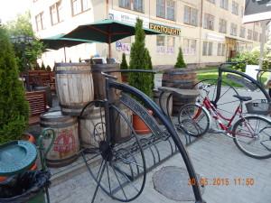 Парковка для велосипедів в Івано-Франківську
