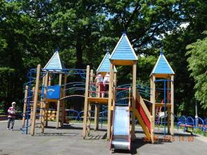 Безкоштовний майданчик в парку Шевченка