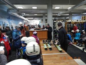 Підбір спорядження на лижному прокаті