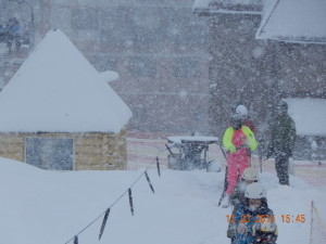 Снігопад на Буковелі
