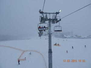 Крісельний підйомник для лижників