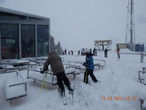 Зимовий бар для гірськолижників
