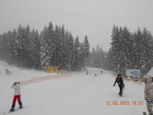 Сноубордисти