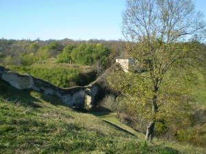 Зовнішні бастіонні укріплення Хотина