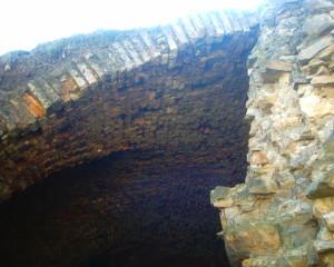 Склепіння у Микулинецькому замку