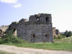 Брама замку біля села Пнів
