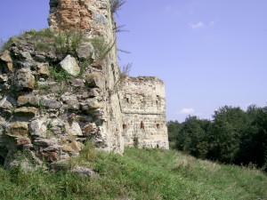Трикутний бастіон Пнівського замку