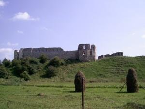 Пнівський замок на горі