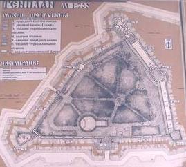 План замку у Старому Селі