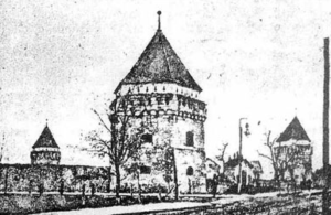 Скалатський замок, з книги початку ХХ ст.
