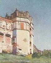 Зображення замку початку ХХ ст.