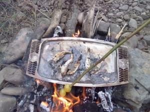 Бистрицький улов на сковорідці