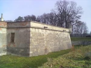 Бастіон замку у Підгірцях