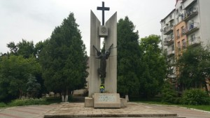Пам'ятник борцям за волю України у Тлумачі