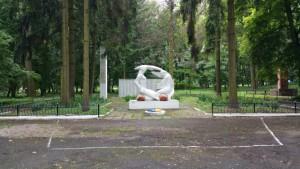 Меморіал радянським воїнам в тлумацькому парку