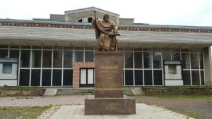 Пам'ятник товмачу - засновникові міста