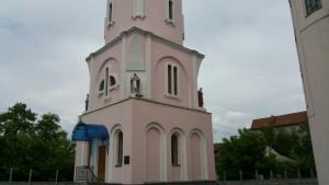 Дзвінниця тлумацької церкви Святої Трійці
