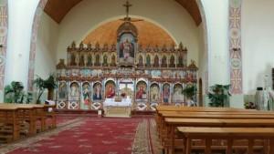 Інтер'єр церкви Святої Трійці у Тлумачі
