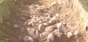 Археологічний розкоп поблизу ужгородської горянської ротонди