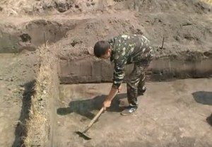 Археологічний розкоп у Бродах
