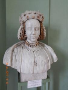Фігура Барбари Радзивіл в замковому музеї