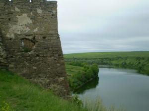 Північна вежа Жванецького замку