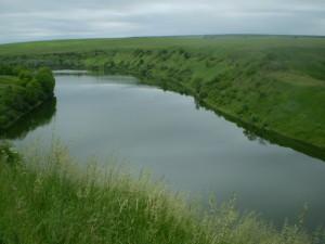 Вид на ріку Жванець