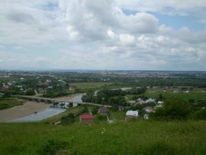 Міст через Бистрицю у Вовчинцях