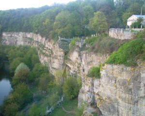 Скелястий каньйон ріки Смотрич