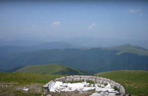 Вид з гори Стій