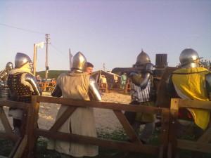 Піші лицарі у повному спорядженні