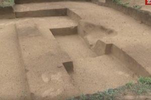 Археологічний розкоп у Мостиському районі