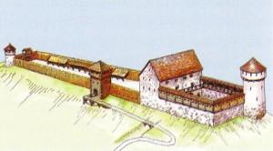 Львівський замок у княжі часи