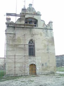 Замковий костел у Меджибожі - тепер церква святого Миколая