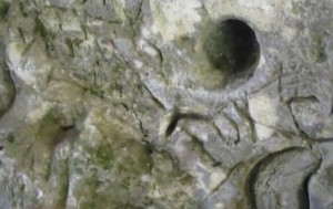 Петрогліфи на скелях у Стільському