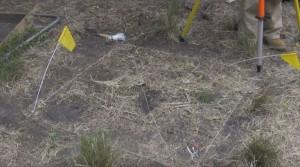 Позначення квадрату розкопок