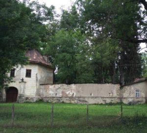 Замок у селі Довге