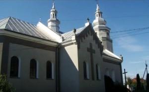 Борщівський костел 18 століття