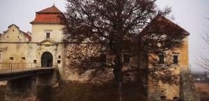 Фасад свірзької фортеці
