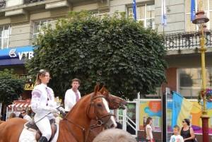 Фестиваль Довбуша на День прапора в Івано-Франківську