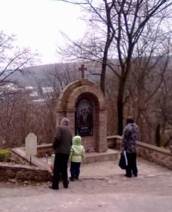 Хресна дорога в Зарваниці