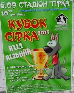 Кубок Сірка проводитья на початку вересня