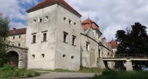 Мури, башти та замковий міст свірзького замку