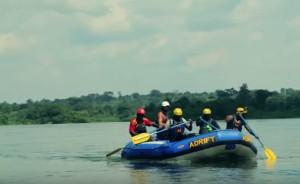 Рафтинг в Угані