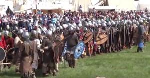 Реконструкція давньоруської битви