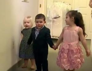Стильная одежда может быть даже для малышей